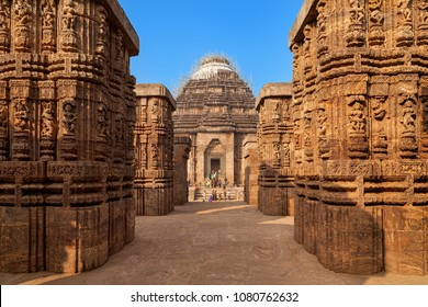 The ancient Sun temple at Konark built in 13th century is a world heritage conservation site today.