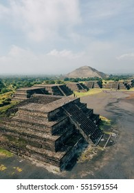 The ancient templates of Teotihuacan in Mexico