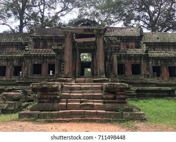 Ancient Temple at Angkor Wat