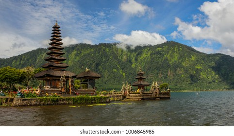 Ancient temple by the lake