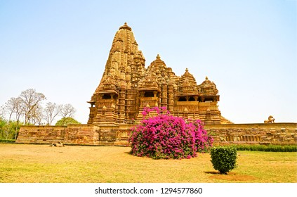 Ancient temple landscape. Beautiful ancient temple landmark. Ancient temple view