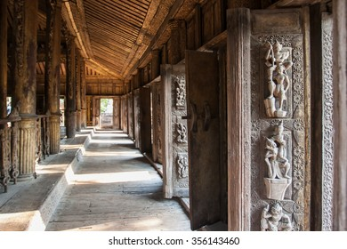 Ancient Temple, Mandalay, Myanmar