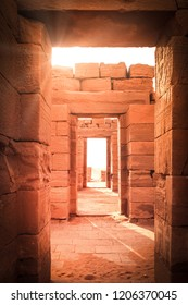 Ancient temple in Meroe, Sudan.
