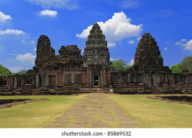 Ancient Temple in Nakhon Ratchasima , The Phimai historical park , Thailand