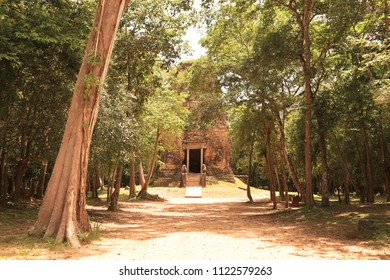 Ancient Temple of Sambor Prei Kuk, Cambodia
