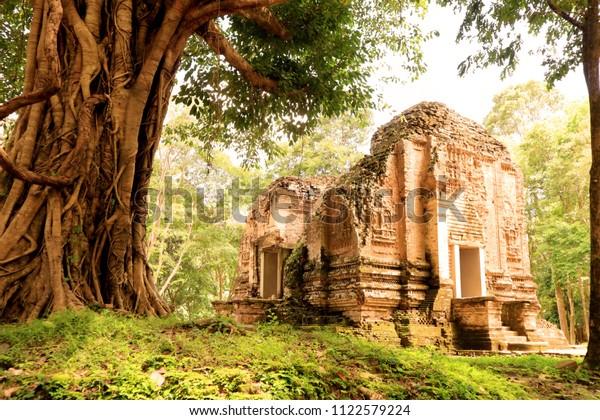Ancient Temple of Sambor Prei Kuk, Cambodia