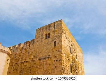 Ancient tower in Tarragona, Spain