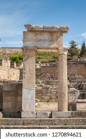 Ancient Town of Kamiros, Hellenistic City mentioned by Homer, Greek Island of Rhodes, Rodos. Greece. Europe