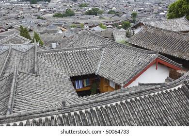 ancient town of lijiang, yunnan province, china.