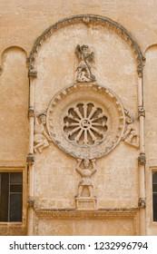 Ancient town of Matera (Sassi di Matera), European Capital of Culture 2019, Basilicata, Southern Italy. Old house fragment