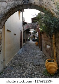 Ancient town street
