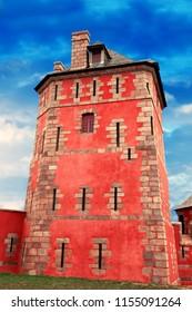 the Ancient Vauban Tower in Camaret sur Mer