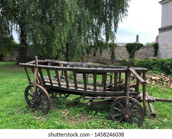 ancient vehicle. Old medieval cart