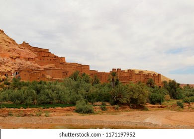 Ancient village of Ait Benhaddou which was used as location for several Hollywood movies, as Gladiator - Morocco