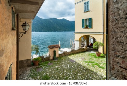 Ancient village Albogasio Oria, is part of the municipality of Valsolda, in the province of Como, Lombardy region, Italy