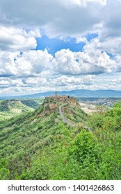 The ancient village of Civita di Bagnoregio - Viterbo- Lazio Ita