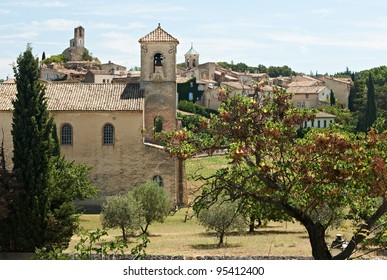 Ancient village of Lourmarin, South France, Provence, region of Luberon