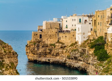 ancient village on a promontory in southern italy