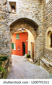 Ancient Village in South France Provence