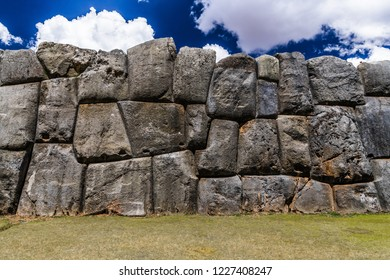 Ancient walls of Sacsayhuaman