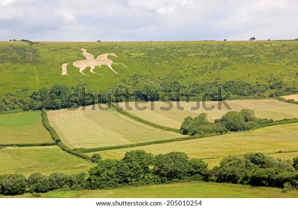ancient white horse osmington, historic figure