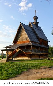 Ancient wooden church. Suzdal.