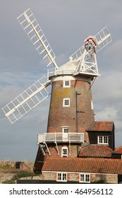 An ancient working Mill in a Norfolk Village