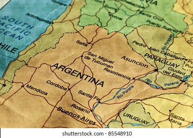 Argentina Map Images, Stock Photos & Vectors | Shutterstock