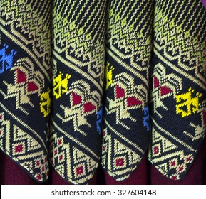 Ancient woven fabric