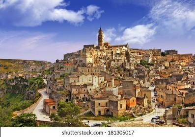 ancienta Matera, Basilicata, Italy