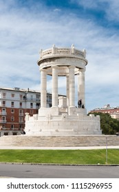 ANCONA -April 15th 2018 Monumento ai CadutiThis is a Grand monument built in the fascist 1930s. It was erected on the South side of the city, near the sea. It is said that you are on top of the buildi