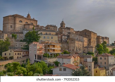 Ancona,Italy:urban architecture.The port city of Ancona is located along the eastern shores of the Adriatic coast and is the administrative center and the capital of the Marche region.