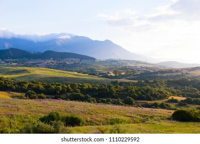 Andalusian mountain landscape