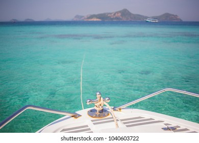 Andaman sea is beautiful tourism is travel diving, snorkeling at Thailand