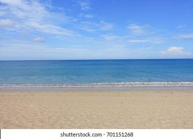 Andaman sea in Phuket, Southern of Thailand