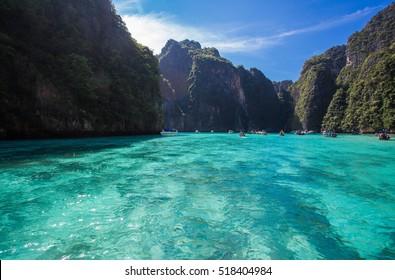 Andaman sea, PP island  krabi thailand