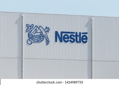 Anderson - Circa June 2019: Nestle manufacturing plant. Nestle produces Coffee-Mate, Nesquick, and Buitoni pastas in Indiana I