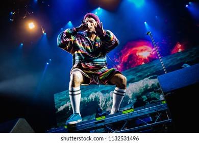 Anderson .Paak at Rock Werchter Festival, Werchter, Belgium 5-8 July 2018