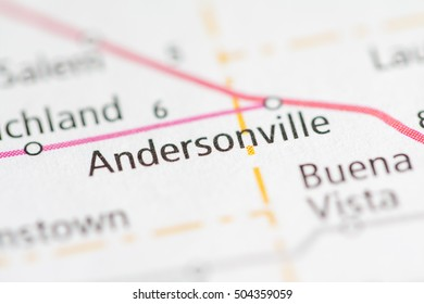 Andersonville. Indiana. USA