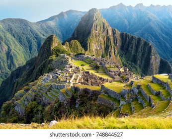 the andes metroploe peru in south america