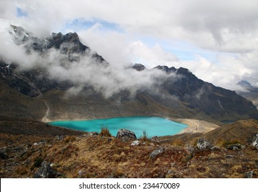 Andes scenery around Huancayo in Peru ( South America)