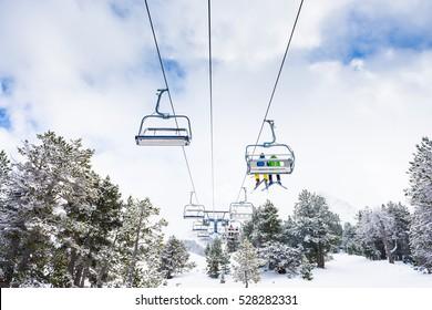 Andora GrandValira lifts - Ski resort