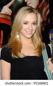 """ANDREA BOWEN at the world premiere of """"Because I Said So"""" at the Arclight Theatre, Hollywood. January 30, 2007  Los Angeles, CA Picture: Paul Smith / Featureflash"""
