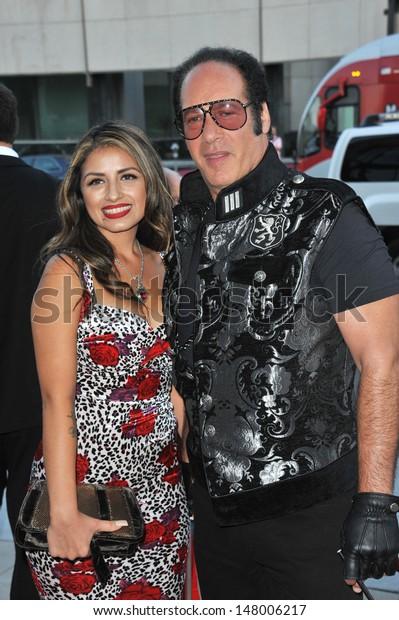 Andrew Dice Clay Wife Valerie Vasquez Stock Photo (Edit ...