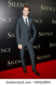 Andrew Garfield at the Los Angeles premiere of 'Silence' held at the Directors Guild Of America in Los Angeles, USA on January 5, 2017.