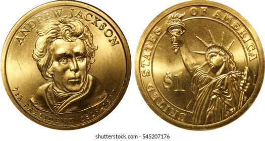 Andrew Jackson Presidential Dollar
