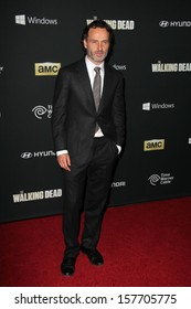 "Andrew Lincoln at ""The Walking Dead"" Season Four Premiere, AMC Universal Citywalk Stadium 19,  Universal City, CA 10-03-13"
