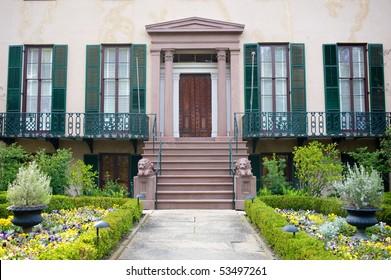 Andrew Low House, Savannah, Georgia, USA