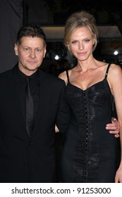 "Andrew Niccol, Rachel Roberts at the ""In Time"" Los Angeles Premiere, Regency Village Theatre, Westwood, CA 10-20-11"