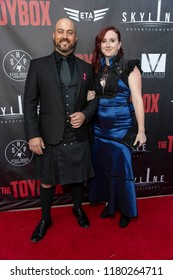 """Andrew Staton attends  Skyline Entertainment's  """"The ToyBox"""" Los Angeles  Premiere at Laemmle's NoHo 7, North Hollywood, California on September 14th, 2018"""